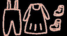 Bekleidung für Babys und Kinder