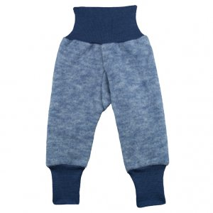 Cosilana Baby-Hose lang aus Fleece Wolle-Baumwolle